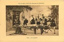 080320 - THEATRE ARTISTE - Vie De Sainte DEVOTE Patronne De MONACO Le Martyre VIII - Romain - Opernhaus & Theater