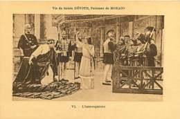 080320 - THEATRE ARTISTE - Vie De Sainte DEVOTE Patronne De MONACO L'interrogatoire Vi - ROMAIN CESAR - Opernhaus & Theater