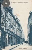 41- Carte Postale Ancienne De BLOIS  La Rue Porte- Chartraine - Blois