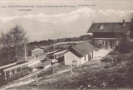 74 - La Salève (Haute-Savoie) - Station Du Funiculaire Des XIII Arbres - France