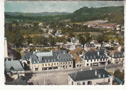 64 - Gan - Vue Aérienne - Place De La Mairie - Altri Comuni