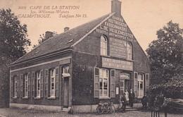 120 Calmpthout Cafe De La Station - Belgien