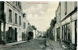 N°4937 T -cpa Sillé Le Guillaume -grande Rue- - Sille Le Guillaume