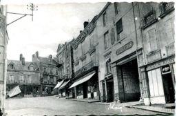 N°4943 T -cpsm Sillé Le Guillaume -place Saint Etienne- - Sille Le Guillaume