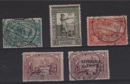 TRANS 73 - GUINEE PORTUGAISE 5 Val. Obl. Vasco De Gama - Guinea Portoghese
