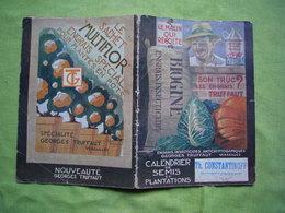 Calendrier Des Semis Pub Engrais Truffaut Biogine - Publicités