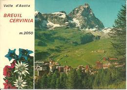 Cervinia Breuil (Aosta) Scorcio Panoramico, Panoramic View, Vue Panoramique, Ansicht - Aosta