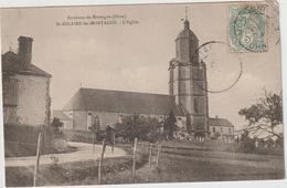 Trois Cartes  St Hilaire Les Mortagne L,église / Calvaire +reveillon Le Calvaire - Otros Municipios