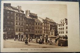 POLEN POLAND POLOGNE - WARSZAWA WARSCHAU - Alter Markt Mit Fuggerhaus - Pologne