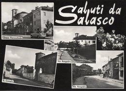 Saluti Da SALASCO - MULTIVEDUTE - (rif. S54) - Vercelli