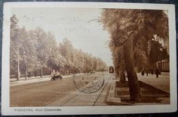 POLEN POLAND POLOGNE - WARSZAWA WARSCHAU - 1929 Aleja Ujazdowska - Pologne