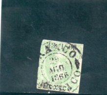 MEXIQUE 1866-7 O - Mexique