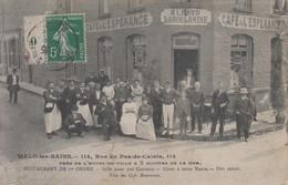 CPA   NORD  :  MALO  LES  BAINS   Café  Restaurant  De  L' ESPERANCE - Malo Les Bains