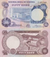 Nigeria / 50 Kobo / 1973 / P-14(a) / UNC - Nigeria