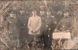 ! 1914 Foto Ansichtskarte Photo, Kompagnieführer + Stab Landwehr Infanterie Regiment 85 Militaria - Reggimenti