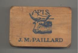 """Objet Publicitaire - Gomme En Bois """" APIS """" J.M. PAILLARD - Ecole, Accessoires Bureaux,... (b275) - Reklame"""