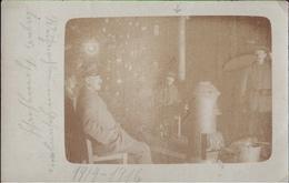 ! 1914-16 Foto Ansichtskarte Photo, Militaria, Kriegsgefangenenlager Springhirsch Kaltenkirchen, POW, Schleswig-Holstein - Guerra 1914-18