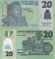 Nigeria / 20 Naira / 2010 / P-34(f) / UNC - Nigeria