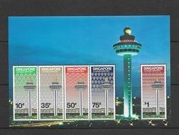 1981 MNH Singapore Mi Block 13  Postfris** - Singapour (1959-...)