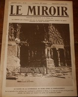 Le Miroir. N°45.4 Octobre 1914. Le Génie Fait Sauter Un Pont Sur La Marne.Charge De Cosaques En Prusse Orientale. - 1900 - 1949