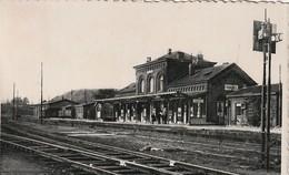 Frameries, La Gare, Statie, 2 Scans - Quévy