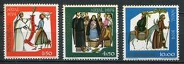 Portugal Mi# 1263-5 Postfrisch MNH - Christmas - Neufs