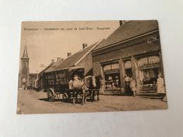 Wiekevorst Heist-op-den-Berg  Handelshuis Van Josef De Sobri-Wijns Dorpplaats    ATTELAGE  HEYLEN COLONIALE WAREN - Heist-op-den-Berg