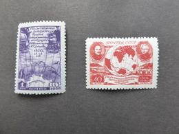 RUSSIE URSS Poste N° 494 Et 495 MNH  Neufs Sans Charnière - 1923-1991 URSS