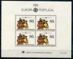 Portugal Mi# Block 57 Postfrisch MNH - EUROPA CEPT - 1910-... Republic