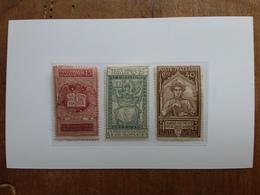 REGNO - Morte Dante Nn. 116/18 Nuovi * + Spese Postali - 1900-44 Vittorio Emanuele III
