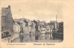 Charleroi - 1899 - La Sambre En Aval Du Déversoir - Nels Série 5 N° 15 - Charleroi
