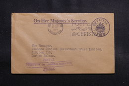 TANGANYIKA - Enveloppe En Franchise Postal De Dar Es Salaam En 1954 , à Voir - L 55204 - Kenya, Uganda & Tanganyika