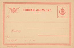 JERNBANE / Norge / Norwey - BREVKORT  , Privatpost - Ganzsachen
