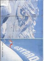 DEPLIANT TOURISTIQUE SUISSE SCHWEIZ SWITZERLAND GSTAAD - 6 VOLETS - Tourism Brochures