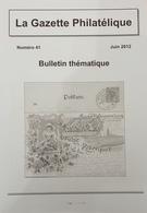"""Revue Thématique N°41 : La Pierre Du Soleil """"gruss Von Der Schneekoppe"""" La Poste Privée Bryce Limited Soucis De Transit - Motive"""
