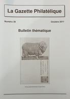 Revue Thématique N°39 : Les émissions Provisoires D'Israël (mai 1948)  Les Carnets D'entiers Postaux Allemands (suite) - Motive