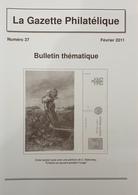 Revue Thématique N°37 : Les études Philatéliques Dans Les Collections Thématiques, Les Oblitérations De Fantaisie Du Can - Motive
