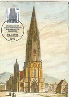 ALEMANIA BERLIN 1987 FREIBURG ARQUITECTURA CATEDRAL - Eglises Et Cathédrales