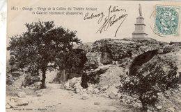 Orange  -  Vierge De La Colline Du Théatre Antique Et Galleries  -  CPA - Orange