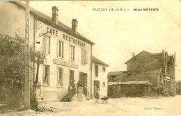 54 BATILLY HOTEL CAFE RESTAURANT EPICERIE HOTTIER ANIMATION - France