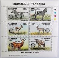 Tanzania 1993**Mi.1564 A-F  Animals , MNH [10;57] - Zonder Classificatie