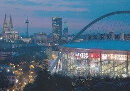 Germany 2010 Card: Ice Hockey Sur Glace; Eishockey; IIHF World Championship LanXess Arena Köln; Paralympics; 2 Scans - Eishockey