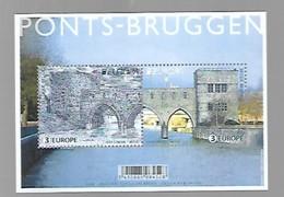 BF EUROPA LES PONTS DE BRUGES - Blokken 1962-....
