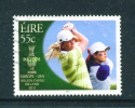 IRELAND  -  2011  Golf - Solheim Cup  55c  FU  (stock Scan) - Used Stamps