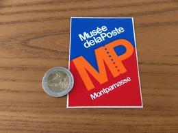 AUTOCOLLANT, Sticker «Musée De La Poste - Montparnasse» (Paris) - Stickers