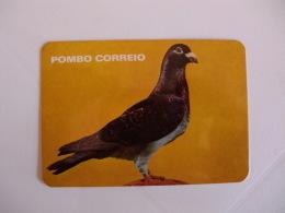 Birds Carrier Pigeon Pombo Correio Portugal Portuguese Pocket Calendar 1986 - Klein Formaat: 1981-90