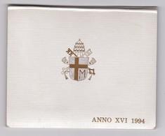 1994 Coffret Du Vatican, Série Complète, Jean Paul II Année XVI - Vatican