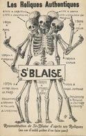 Anticlericale Reliques St Blaise Skeleton Orbitello St Maximin 83 Brindes Raguse Volterre Basse Fontaine 10 Capoue - Andere