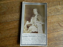 ROUBAIX +CAMBRAI+HAUSSY+LANDRECIES+VALENCIENNES:SOUVENIR DE DECE DE GASPARD PROUVOST 1820-1891 CURE - Andachtsbilder