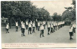 CPA - Belgique -Institut Provincial De Sourds Muets Et D'Aveugles à Berchem - Une Leçon De Canne Royale ( SVM11762) - Berchem-Ste-Agathe - St-Agatha-Berchem